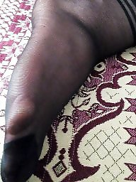 Turban, Asian, Nylon feet, Nylon, Socks, Nylons