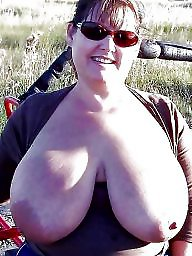 Outdoor, Mature boobs, Mature outdoor, Huge boobs, Mature outdoors, Big mature
