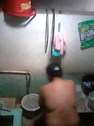 Asian milf, Laundry