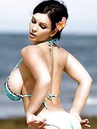 Big boobs, Candid, Big tits voyeur, Beach tits