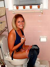 Bathroom, Woman