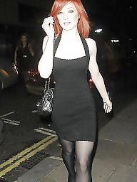 Upskirt, Stockings, Wank, Celebrities, Celebrity upskirt