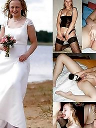 Dressed undressed, Bride, Undressed, Undressing, Brides, Dress undress