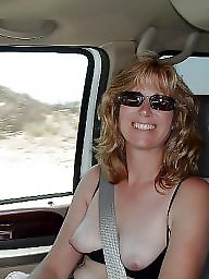 Car, Mature lady, Cars, Amateur matures
