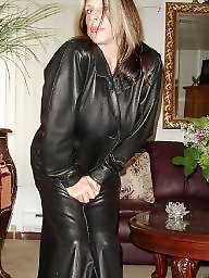 Leather, Latex, Boots, Pvc, Mature porn, Mature boots