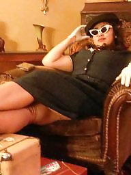 Dressed, Gloves, Vintage amateur, Ups, Dressing