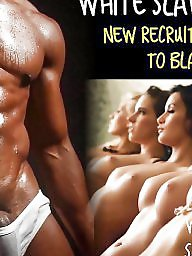 Slave, Captions, Interracial captions, Big cock, Black cock, Slaves