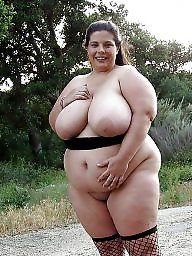 Outdoor, Bbw outdoor, Big tit, Busty bbw, Bbw big tits, Outdoors