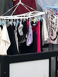 Asian teen, Laundry