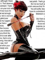 Captions, Caption, Asian femdom