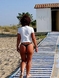 Ass, Thongs, Beach thong