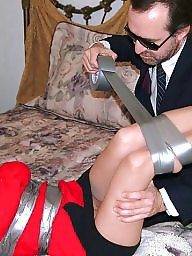 Pantyhose, Tied, Tied up