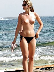 Cameltoe, Beach, Topless