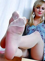 Nylon feet, Nylon, Feet nylon, Stocking feet, Nylons feet