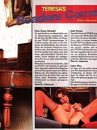 Vintage, Magazine, Hairy pussy, Magazines