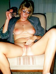 Amateur pussy, Blond wife