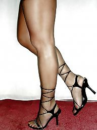 Heels, Voyeur mature, Mature heels, Mature voyeur
