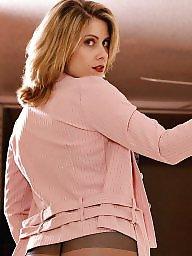 Lady, Pink, Suit, Model, Models