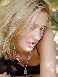 Outdoor, German, German amateur, Blonde