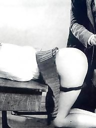 Spanking, Retro, Vintage, Old ass, Spank, Butts