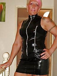 Latex, Pvc, Milf, Mature latex