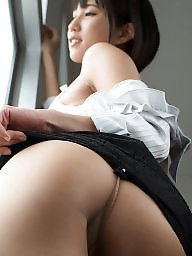 Asian ass, Behind, From behind