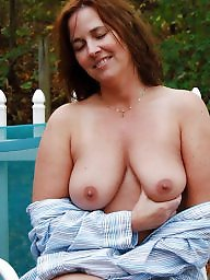 Garden, Naked, Girlfriend, Wives, Naked milf