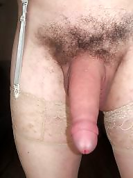 Panties, Dildo, Stockings, Cock, Big cock, Pantie