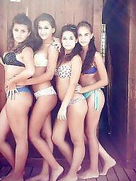 Teen bikini, Bikini teen, Group teen