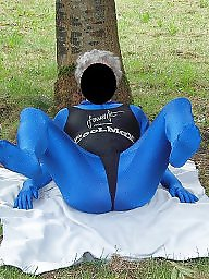 Spandex, Mature outdoors, Outdoor mature, Mature outdoor, Outdoors, Outdoor matures