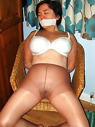 Pantyhose, Tied, Tied up, Stocking, Ups