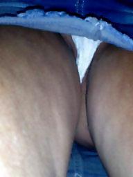 Upskirt, Jeans, Miniskirt, Voyeur upskirt, Upskirt voyeur