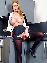 Nylon, Hot milf, Stocking milf