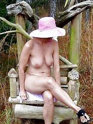 Granny, Granny tits, Sexy granny, Sexy mature, Tits out, Mature tits