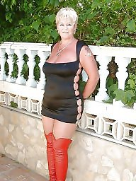 Mature dress