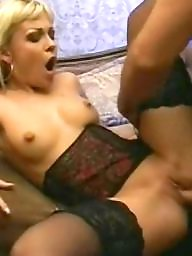Black, Stocking, Stockings, Sex, Blonde, Hardcore