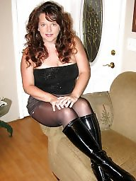 Boots, Mature boots, Stocking, Tights, Boot, Stocking mature