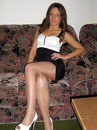 Heels, High heels, Teen stockings, High, Stockings heels