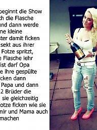 Captions, Femdom, German, Milf captions, Caption, German caption