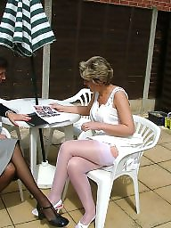 Mature stockings, Uk mature, Stocking mature