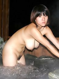 Hairy pussy, Japanese, Asian pussy, Small, Bath, Hairy asian