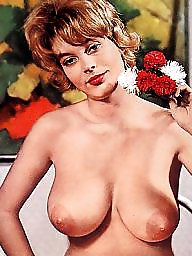 Retro, Vintage boobs, Stunning, Vintage tits, Retro big tits