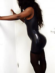 Latex, Dressing, Ebony milf, Sexy dressed, Sexy dress, Ebony sexy