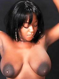Saggy, Tits, Black, Ebony, Big tits, Big boobs