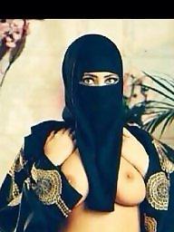 Big, Hijab x, Flashing boobs