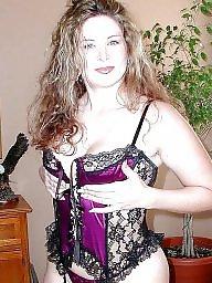 Lingerie, Milf lingerie, Mature lingerie, Mature posing