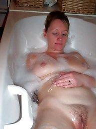 Wife, Bathroom, Shower, Mature wife shower, Mature shower