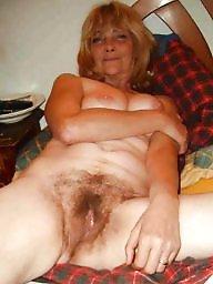 Hairy granny, Granny hairy