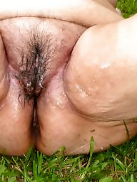 Fat, Dirty, Outside, Bbw fat, Bbw creampie