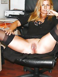 Face, Faces, Hairy stockings, Ups, Hairy milf, Milf stocking